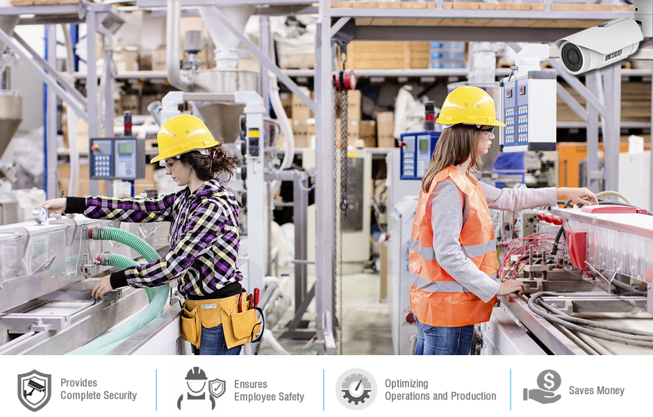 ip cameras - enhancing the security of manufacturing industries