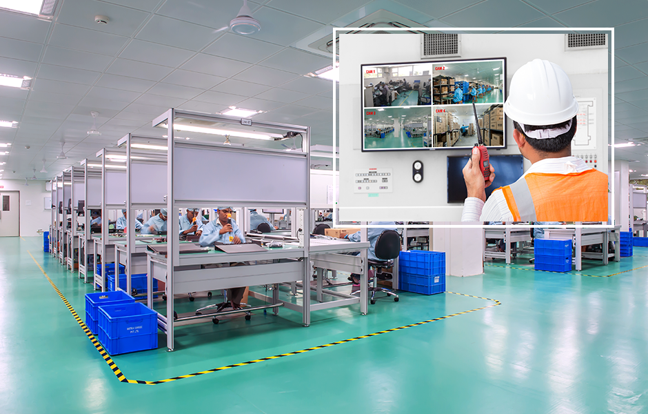 Enhance Video Surveillance For Manufacturing Industry