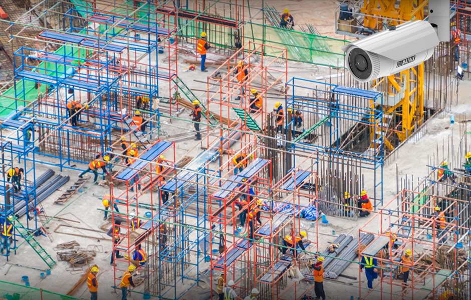 Bullet IP Cameras for Construction Sites