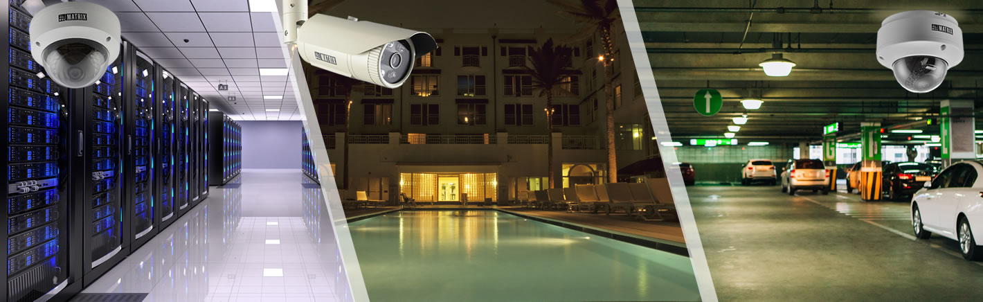 Secure your organization with 2MP PoE IP Cameras