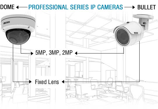 Professional Series IP Network Camera
